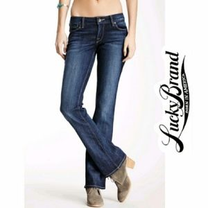 """LUCKY BRAND WOMENS STRETCH """"LOLA"""" BOOTCUT JEANS"""